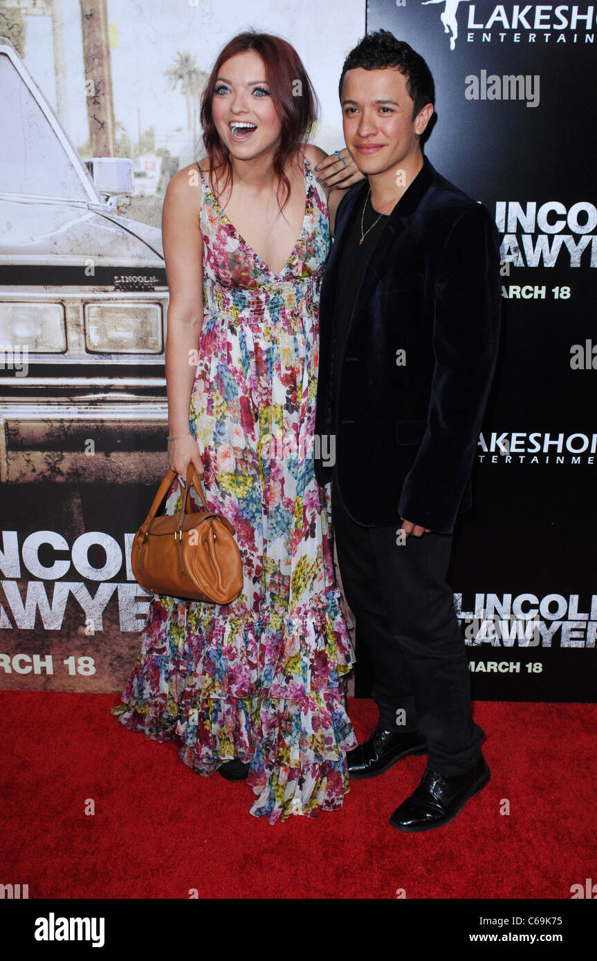 Francesca Fisher-Eastwood, guest at arrivals for THE LINCOLN LAWYER Premiere, Arclight Hollywood, Los Angeles, CA - Stock Image