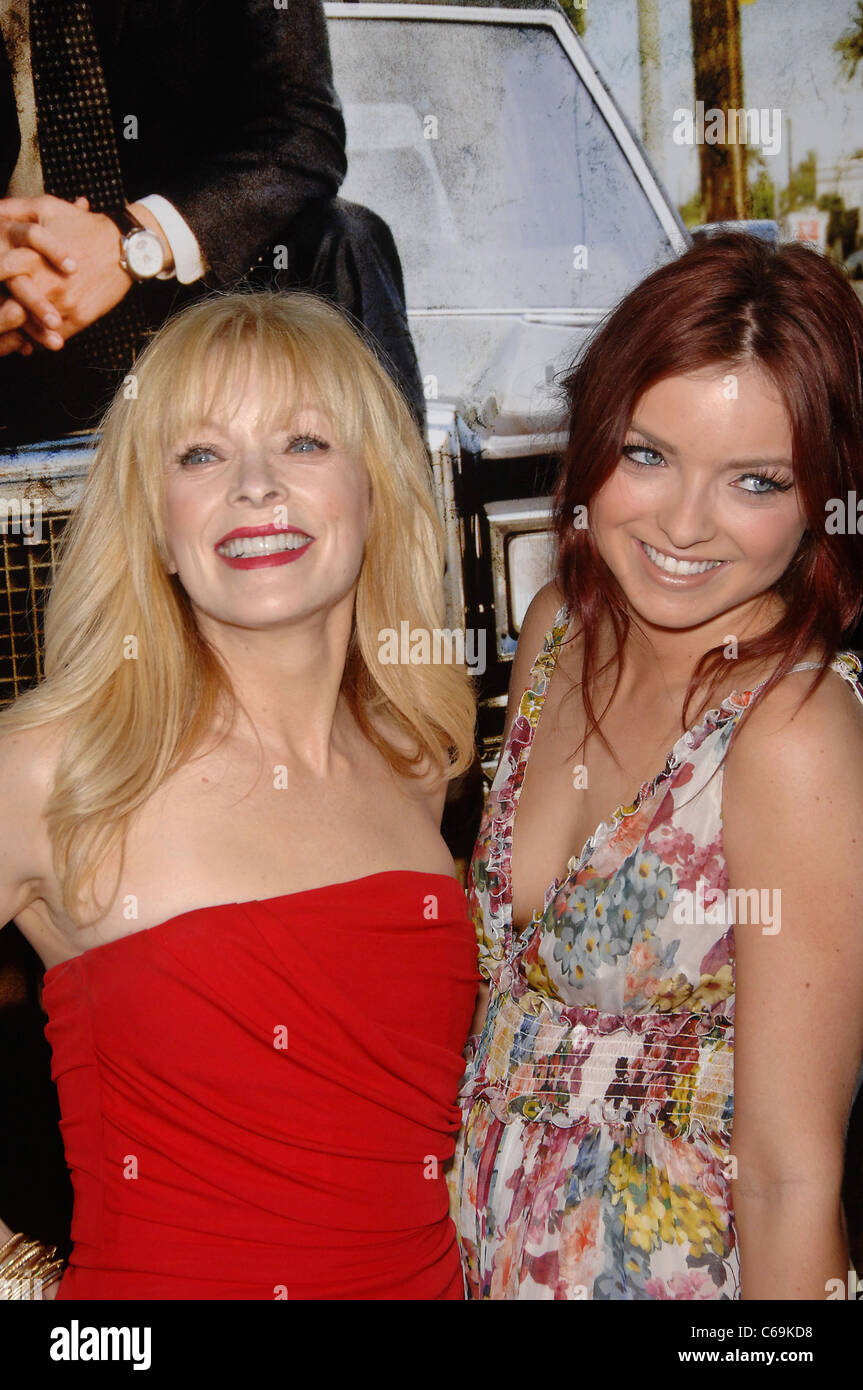 Francis Fisher, Francesca Fisher Eastwood at arrivals for THE LINCOLN LAWYER Premiere, Arclight Hollywood, Los Angeles, - Stock Image
