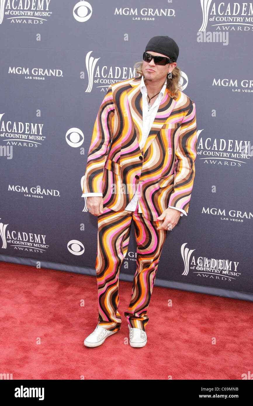 Ira Dean at arrivals for Academy of Country Music ACM Awards 2011 - Arrivals, MGM Grand Garden Arena, Las Vegas, - Stock Image