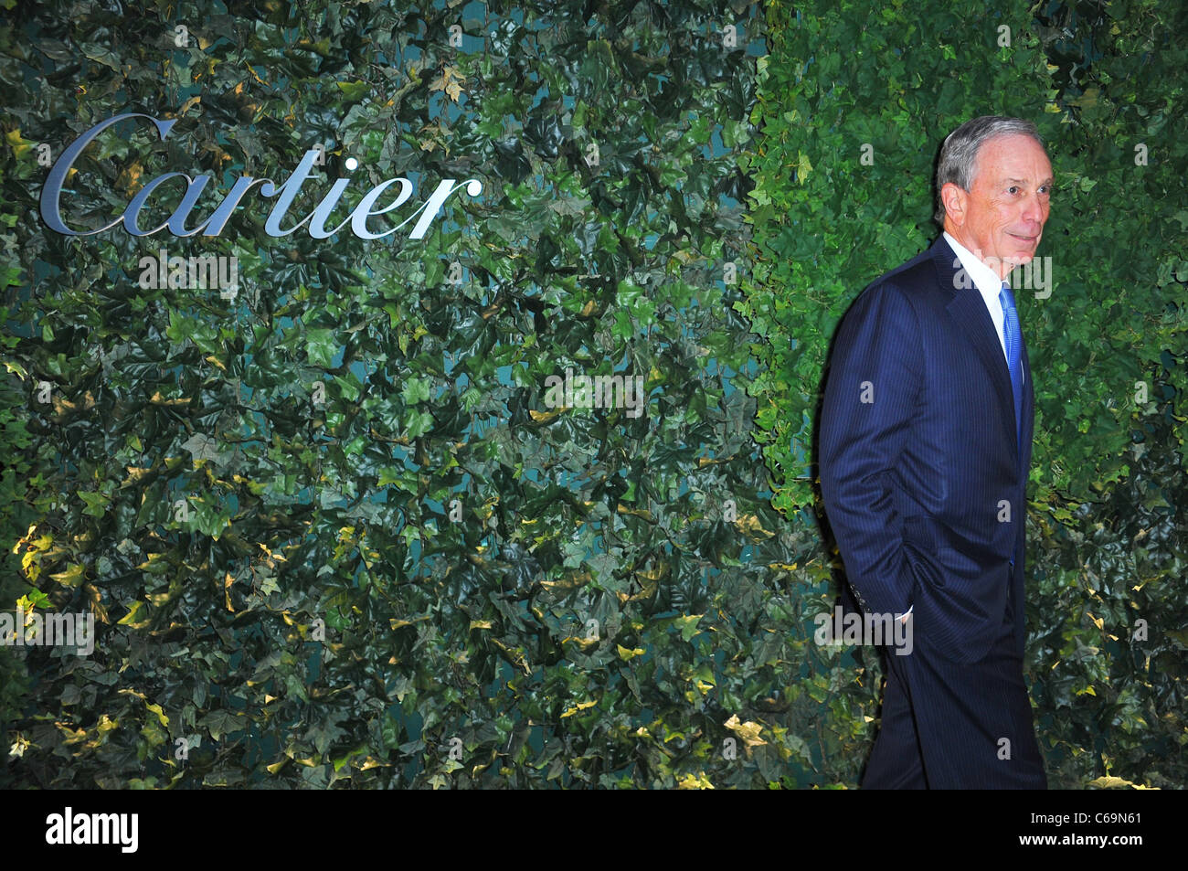 New York City Mayor Michael Bloomberg at arrivals for The MoMA Museum of Modern Art PARTY IN THE GARDEN, Cullman Stock Photo