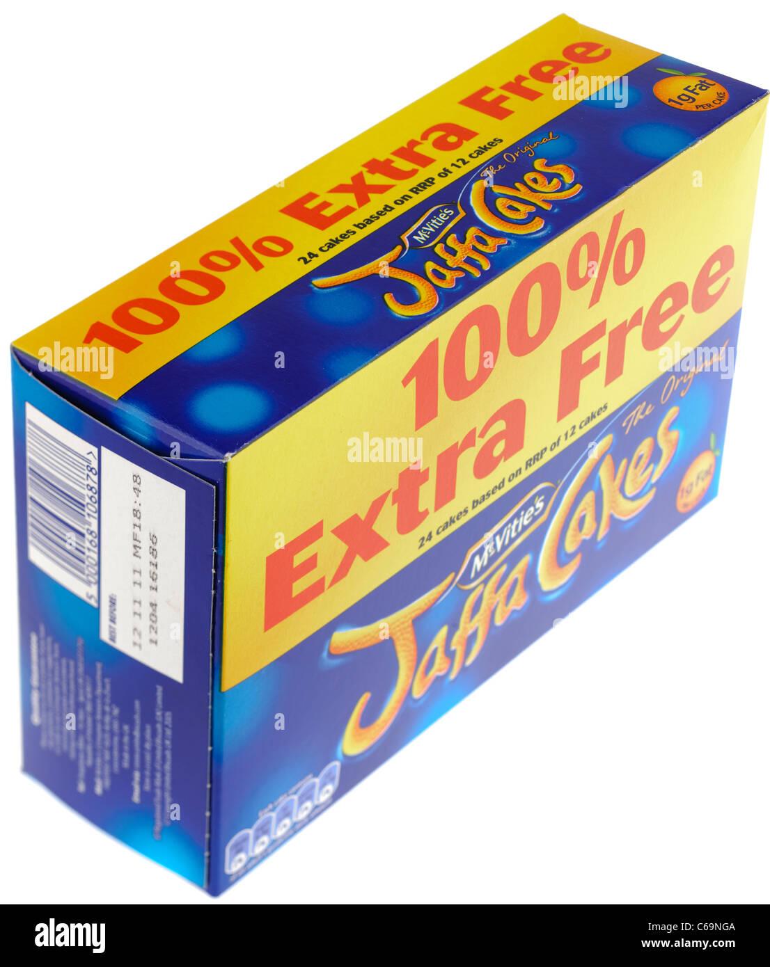 Mcvities Jaffa cakes 100 percent free Stock Photo