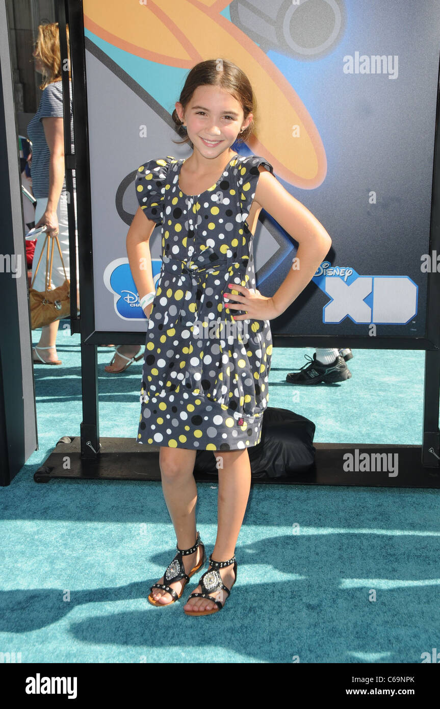 Rowan Blanchard at arrivals for PHINEAS AND FERB: ACROSS THE 2nd DIMENSION Premiere, El Capitan Theatre, Los Angeles, Stock Photo