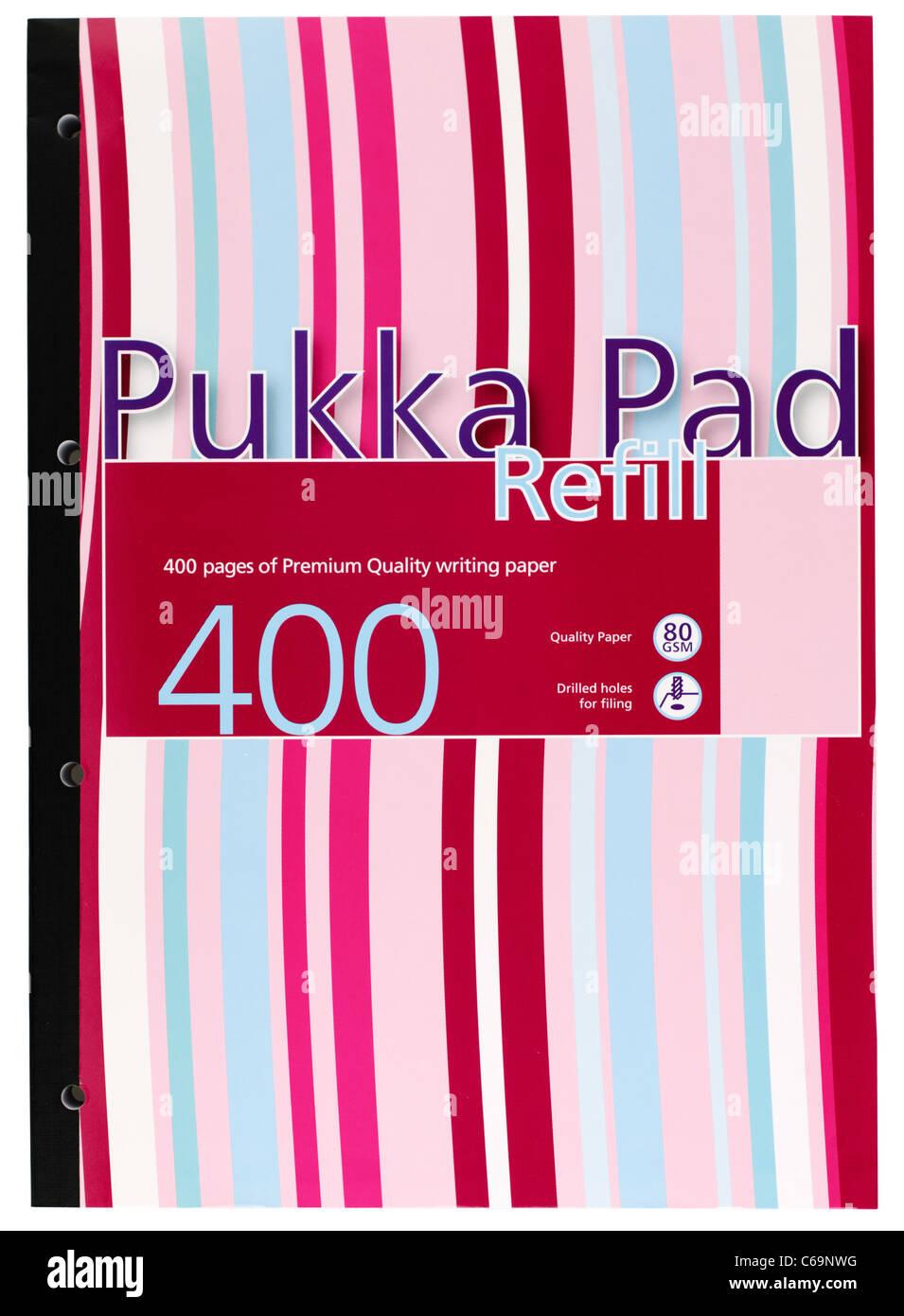 Pukka A4 refill pad of 400 pages - Stock Image