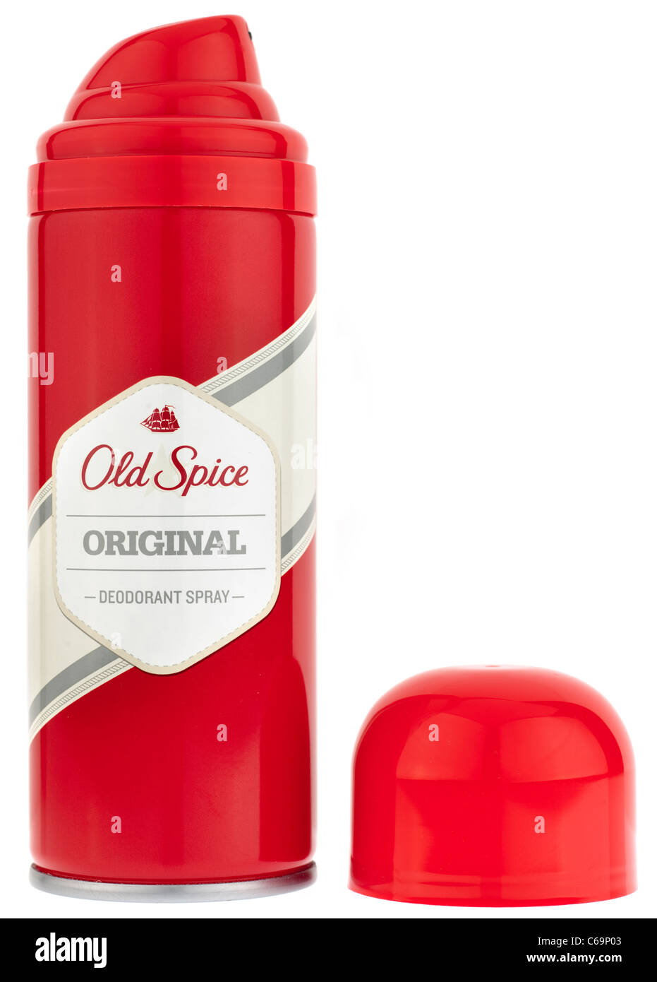 Old Spice original Deodorant spray - Stock Image