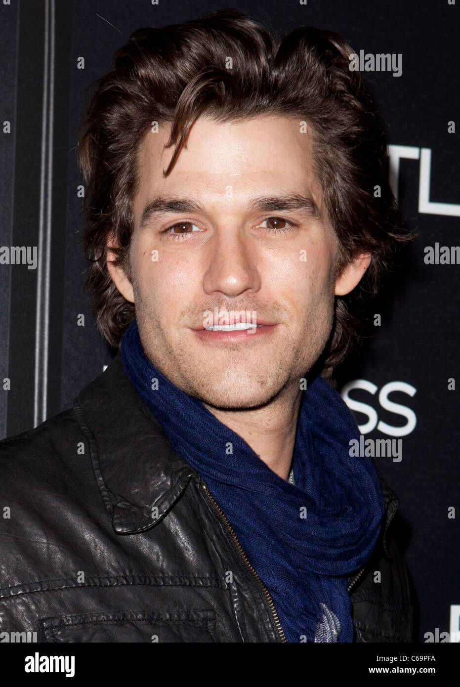 Johnny Whitworth at arrivals for LIMITLESS Premiere, Arclight Hollywood, Los Angeles, CA March 3, 2011. Photo By: - Stock Image