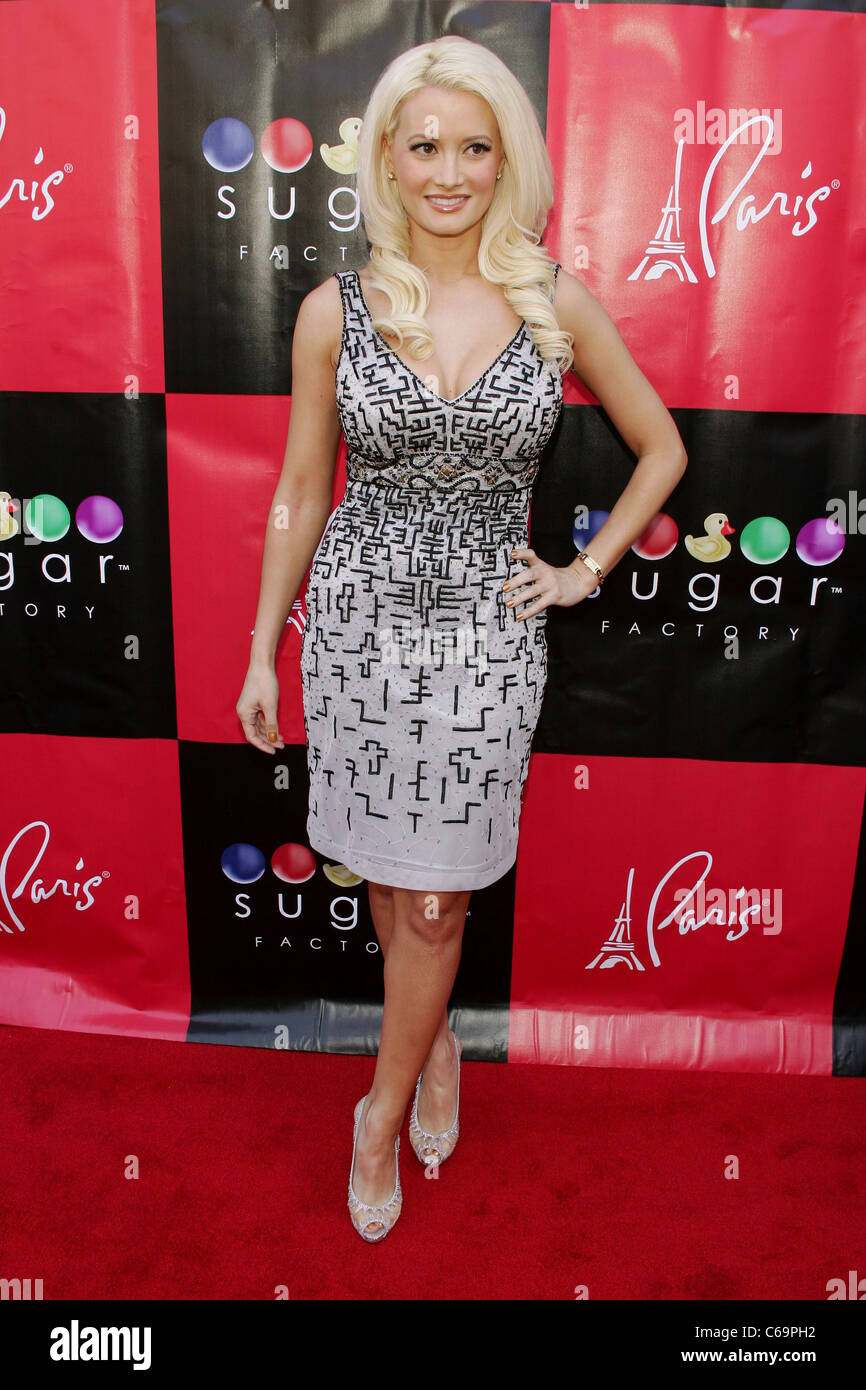 Holly Madison, wearing a dress by Sue Wong at in-store appearance for Holly Madison THE SHOW GIRL NEXT DOOR Book - Stock Image