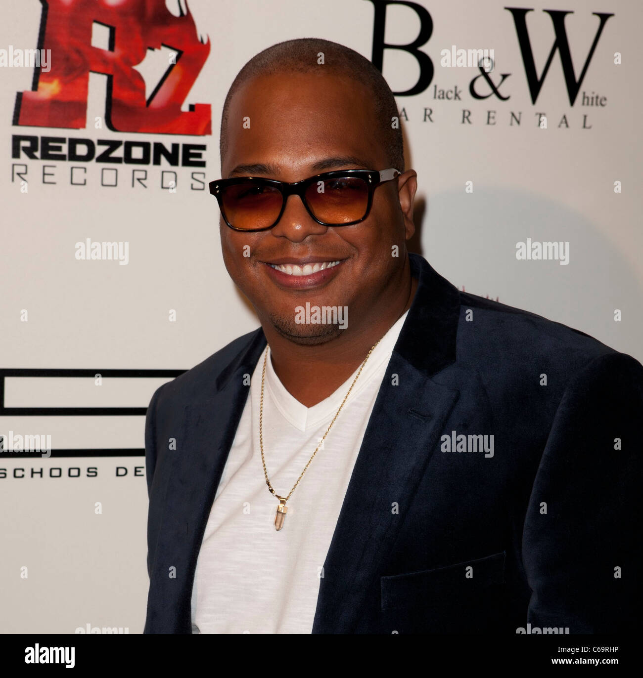 Tricky Stewart in attendance for Redzone Entertainment 2011 Grammy Nominations Party, Playhouse Hollywood, Los Angeles, Stock Photo