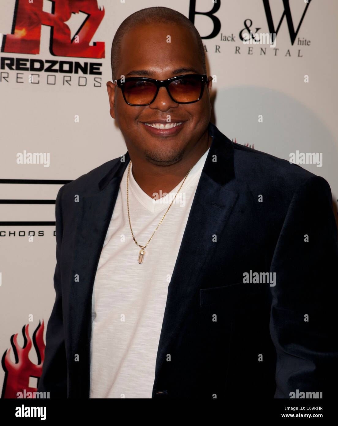 Tricky Stewart in attendance for Redzone Entertainment 2011 Grammy Nominations Party, Playhouse Hollywood, Los Angeles, - Stock Image