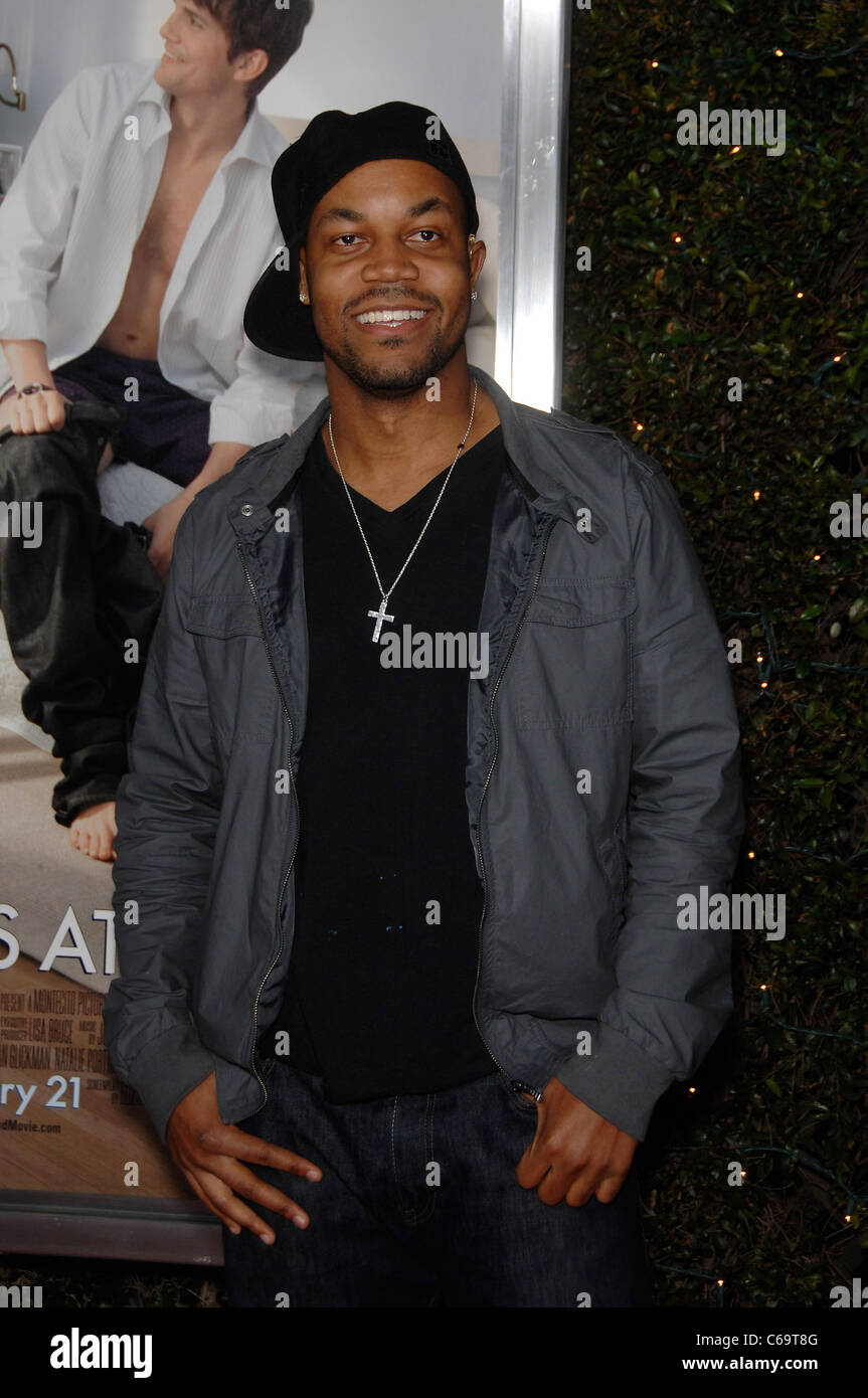 Michael Anthony Spady at arrivals for NO STRINGS ATTACHED Premiere, Regency Village Theater in Westwood, Los Angeles, Stock Photo