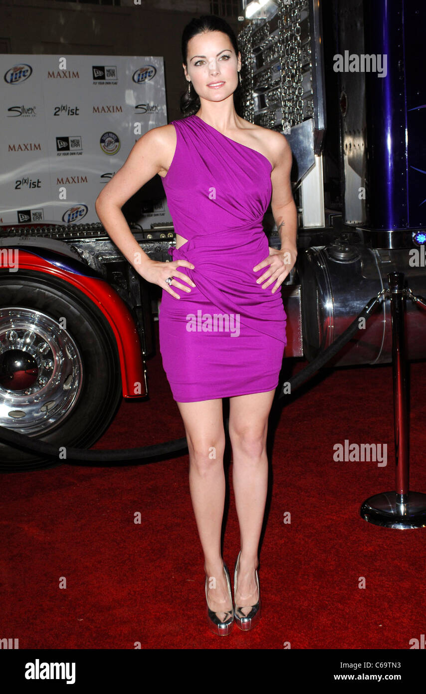 Jaimie Alexander At Arrivals For The Maxim Hot 100 Party Eden Los Stock Photo Alamy
