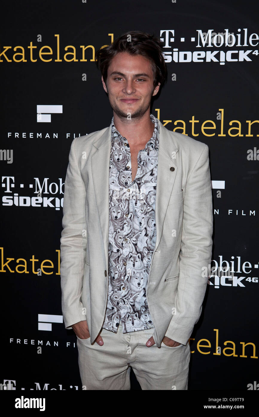 Shiloh Fernandez at arrivals for SKATELAND Los Angeles Premiere, Arclight Theater, Hollywood, CA May 11, 2011. Photo - Stock Image