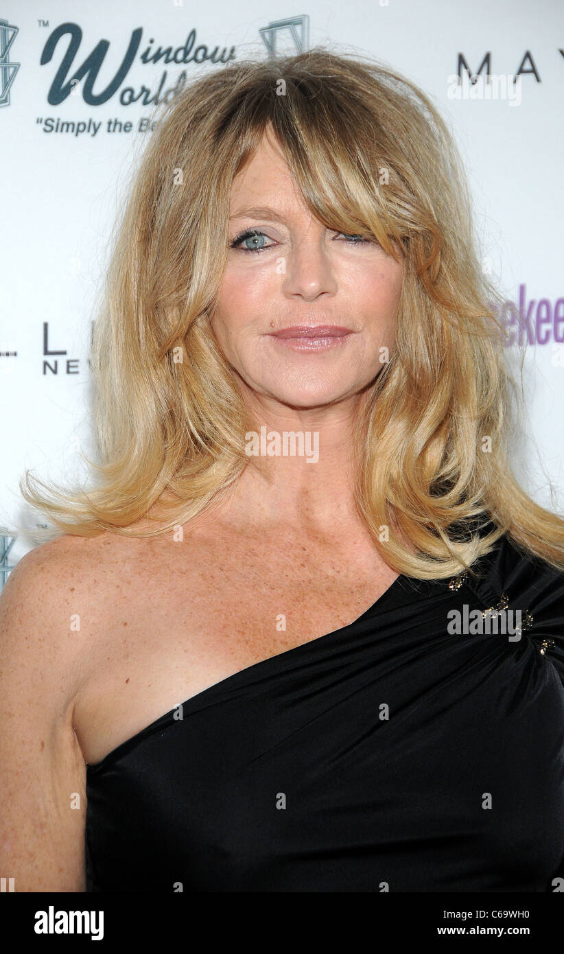 Goldie Hawn at arrivals for Good Housekeeping's Shine On Benefit, Radio City Music Hall, New York, NY April - Stock Image