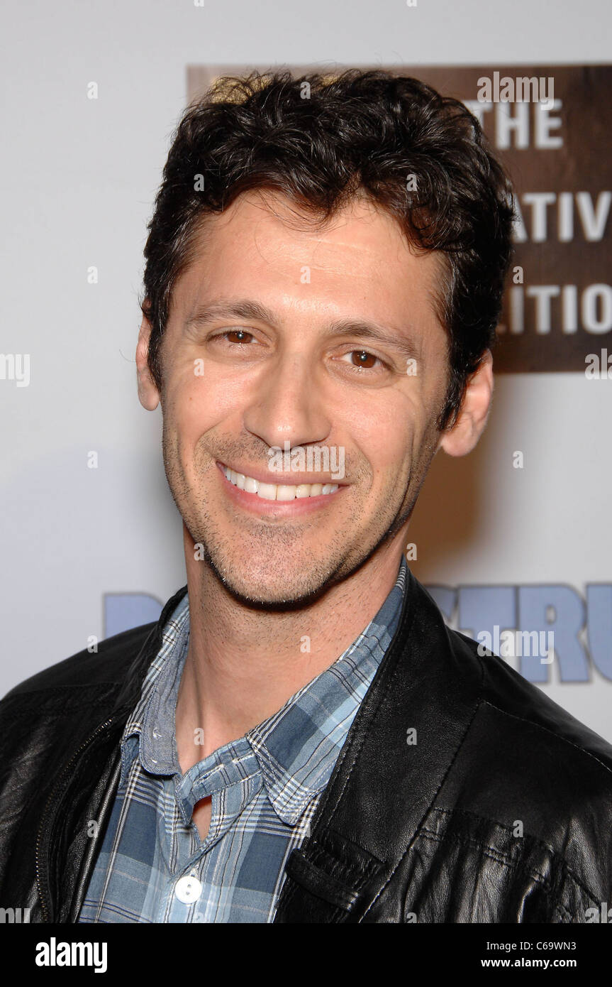 Andy Hirsch at arrivals for DUMBSTRUCK Premiere, The Egyptian Theatre, Los Angeles, CA April 12, 2011. Photo By: - Stock Image