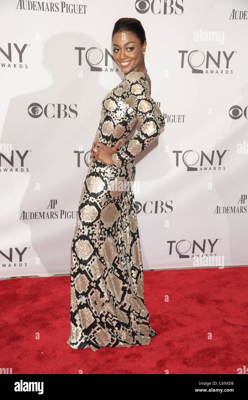 Patina Miller at arrivals for American Theatre Wing's 65th Annual Antoinette Perry Tony Awards - ARRIVALS, Beacon - Stock Image