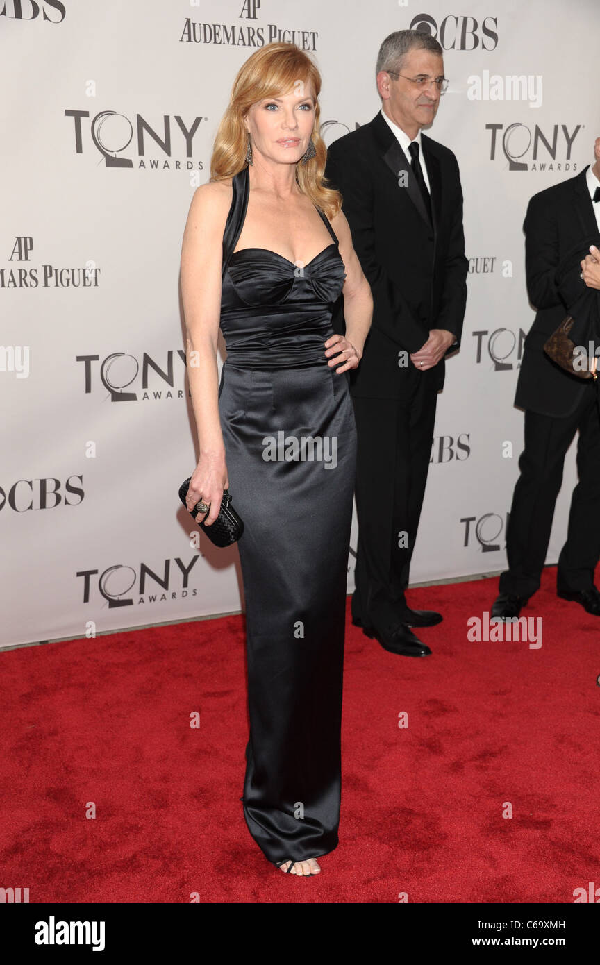 Marg Helgenberger  at arrivals for American Theatre Wing's 65th Annual Antoinette Perry Tony Awards - ARRIVALS, - Stock Image