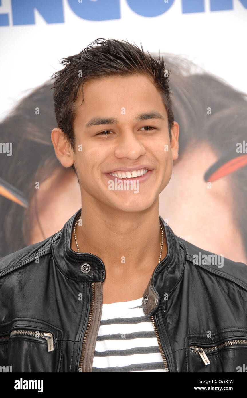 Bronson Pelletier at arrivals for Mr. Popper's Penguins Premiere, Grauman's Chinese Theatre, Los Angeles, - Stock Image