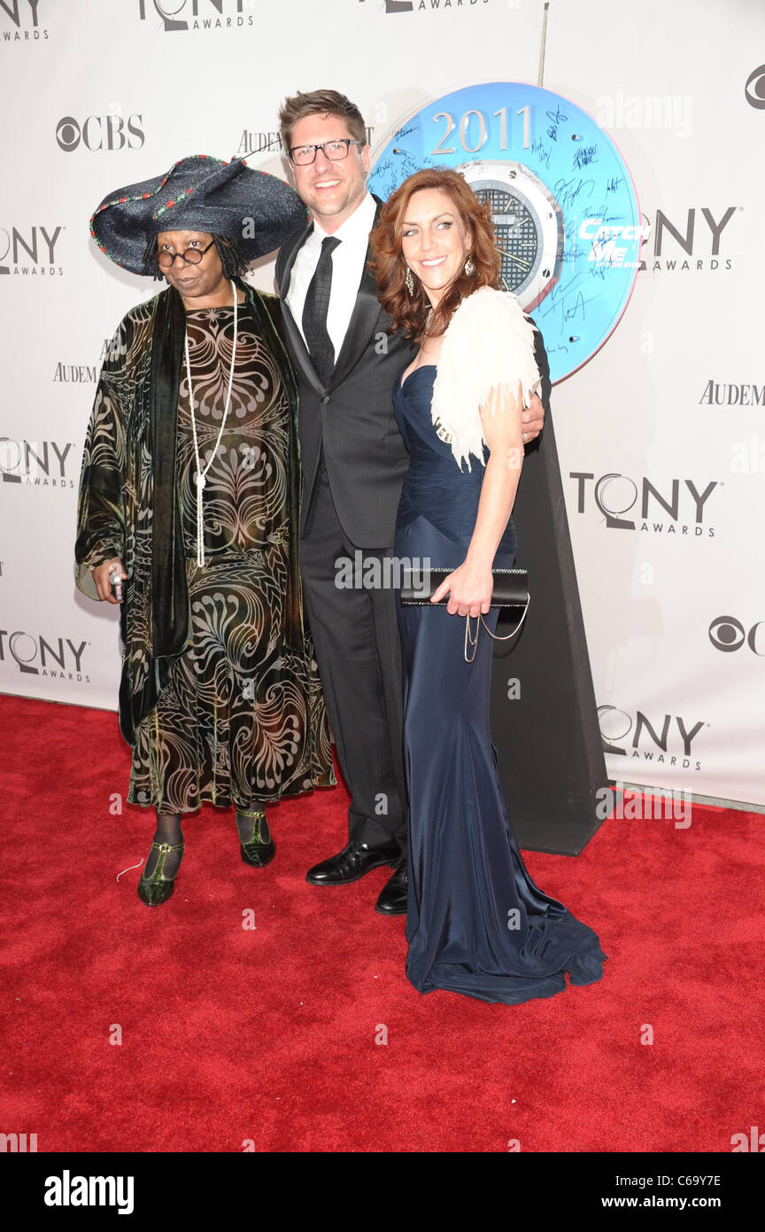 Whoppi Goldberg, guests at arrivals for American Theatre Wing's 65th Annual Antoinette Perry Tony Awards - ARRIVALS - Stock Image