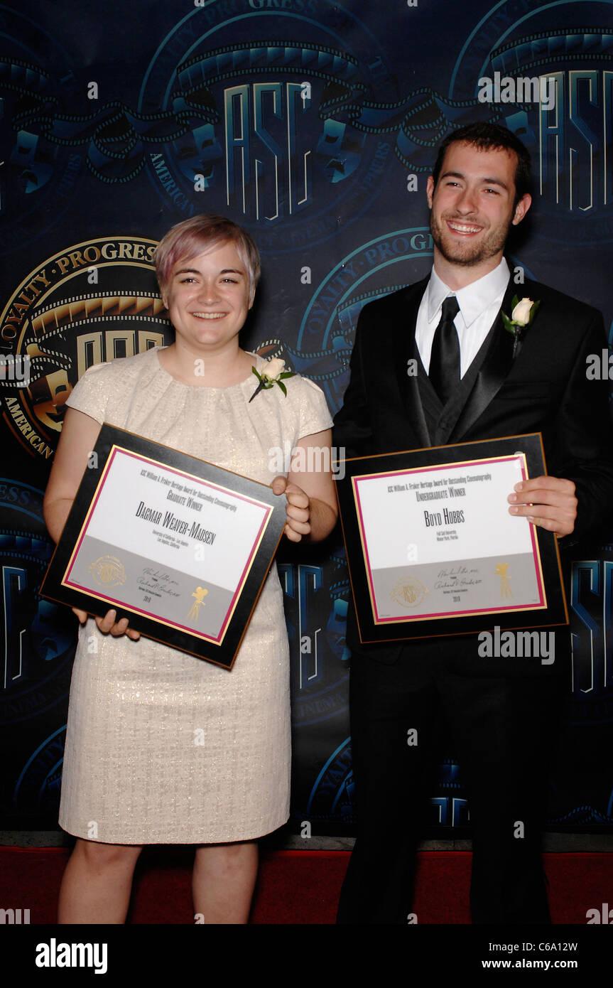 Dagmar Weaver-Madison, Boyd Hobbs in attendance for 25th Annual ASC Outstanding Achievement Awards, Hyatt Regency - Stock Image