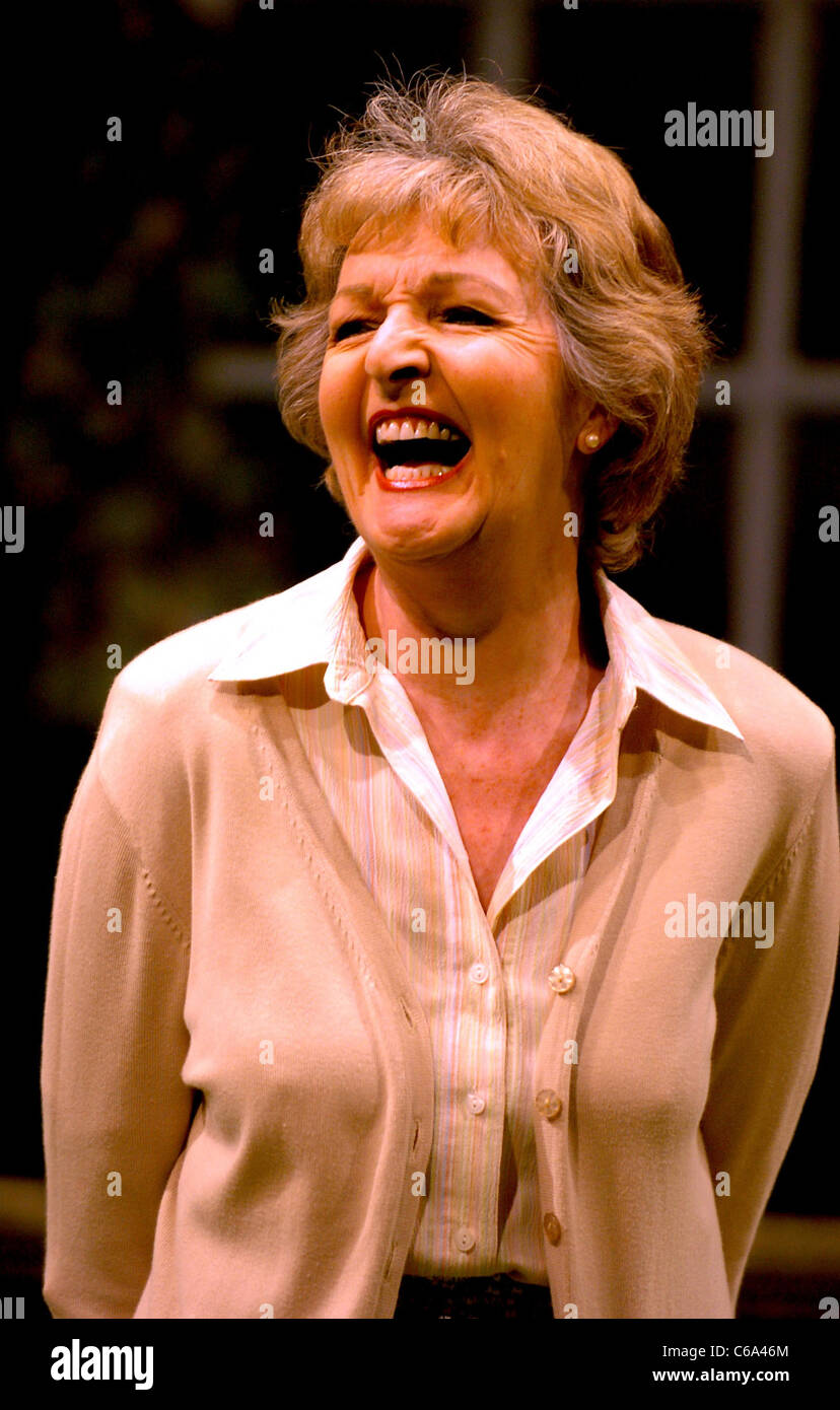 Actress Penelope Keith as Grace in a scene from the play Entertaining Angels which is on at the Chichester Festival - Stock Image