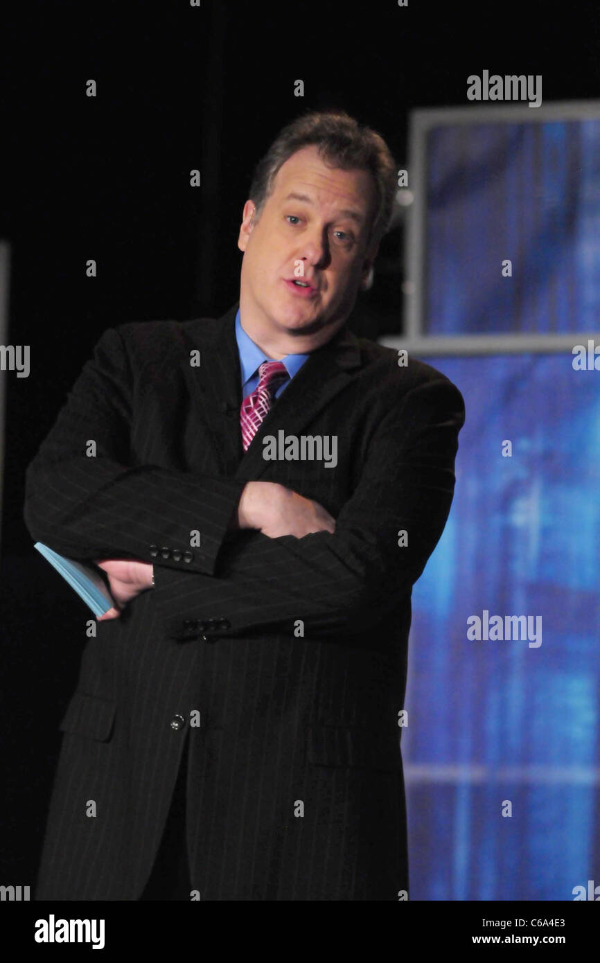 michael kay during a live taping for the yes network t. v. show