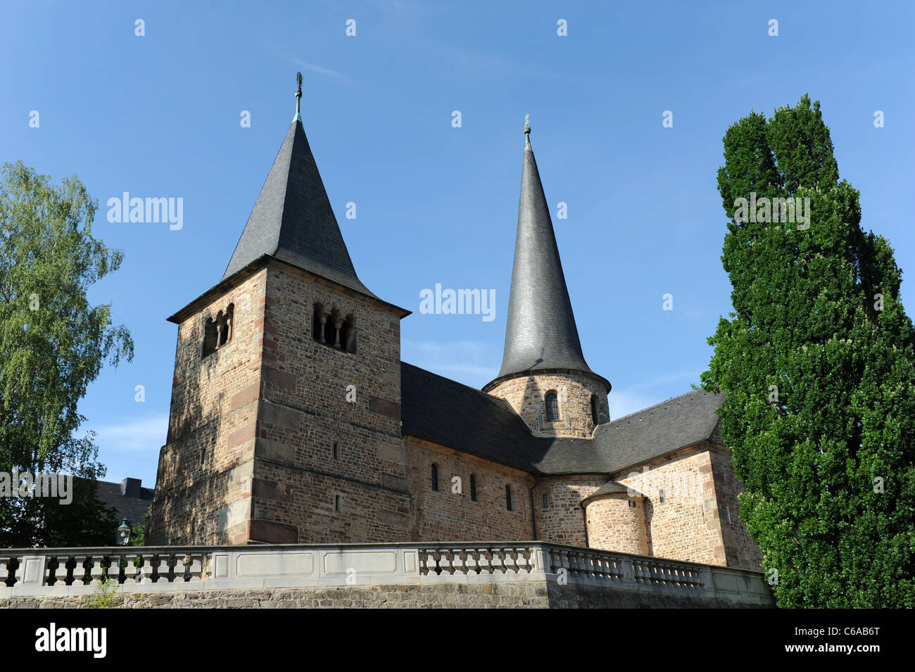 Fulda St. Michael's Church considered the oldest Holy Sepulchre church in Germany Hesse Germany Deutschland - Stock Image