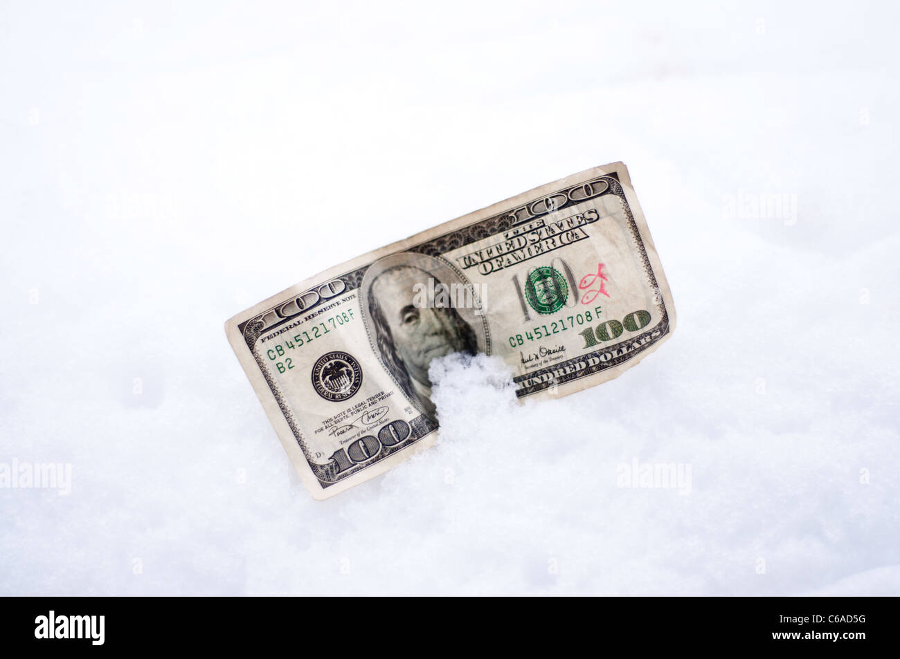 Cold Hard Cash Stock Photo