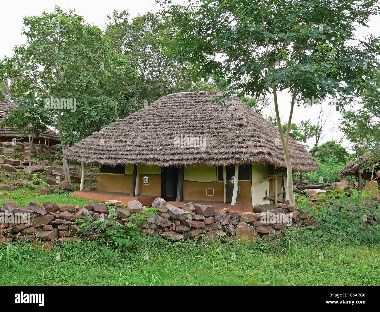 Mordien type house of Gadsbaa agriculturists, Tribal hut