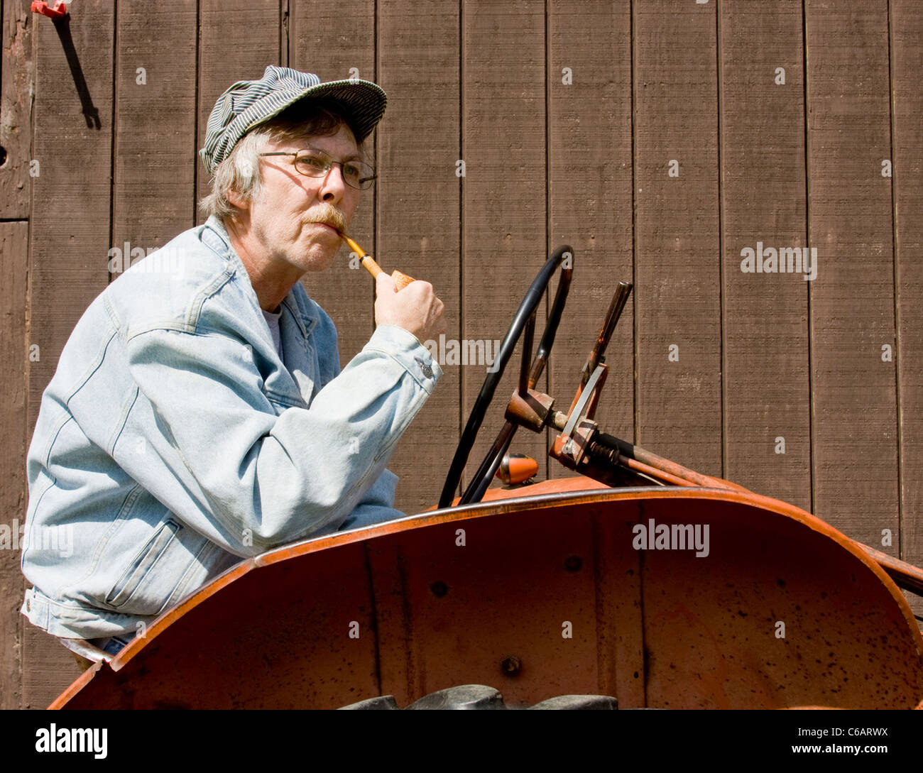 Pipe Smoking Farmer Stock Photos   Pipe Smoking Farmer Stock Images ... 803c42550a36