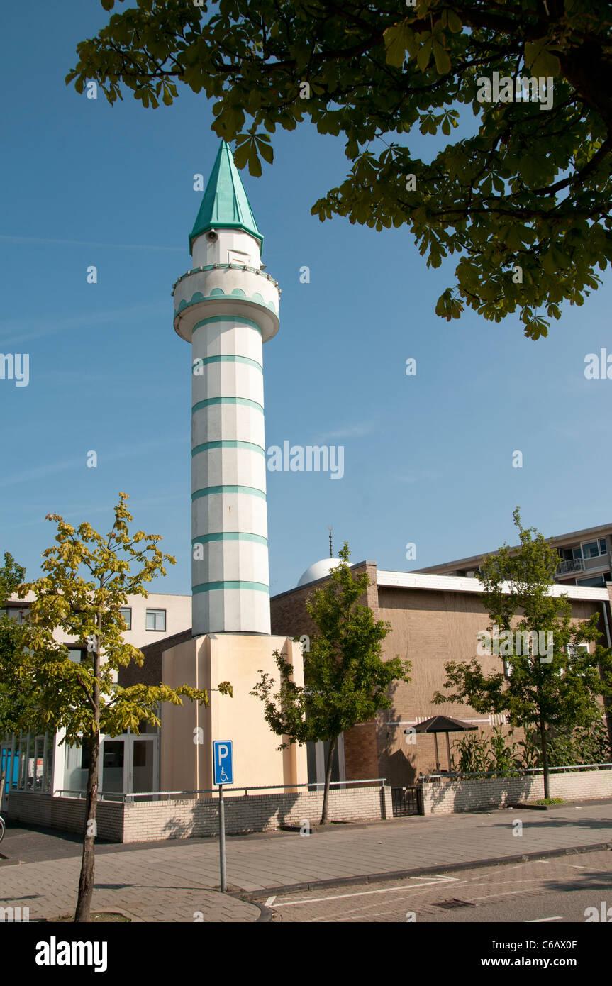 Mosque De Kooi Leiden Noord Netherlands - Stock Image