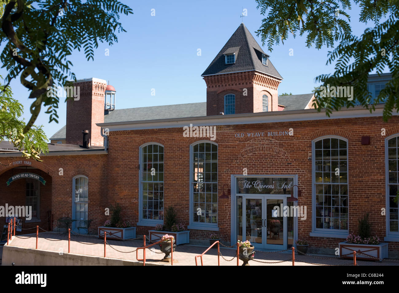 Savage Mill, a shopping emporium, Savage, Maryland, Howard County - Stock Image