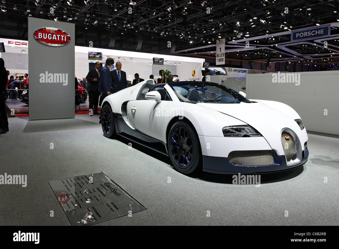 Bugatti Veyron 16.4 Grand Sport, Luxury Sports Car, International Motor  Show Geneva 2011,