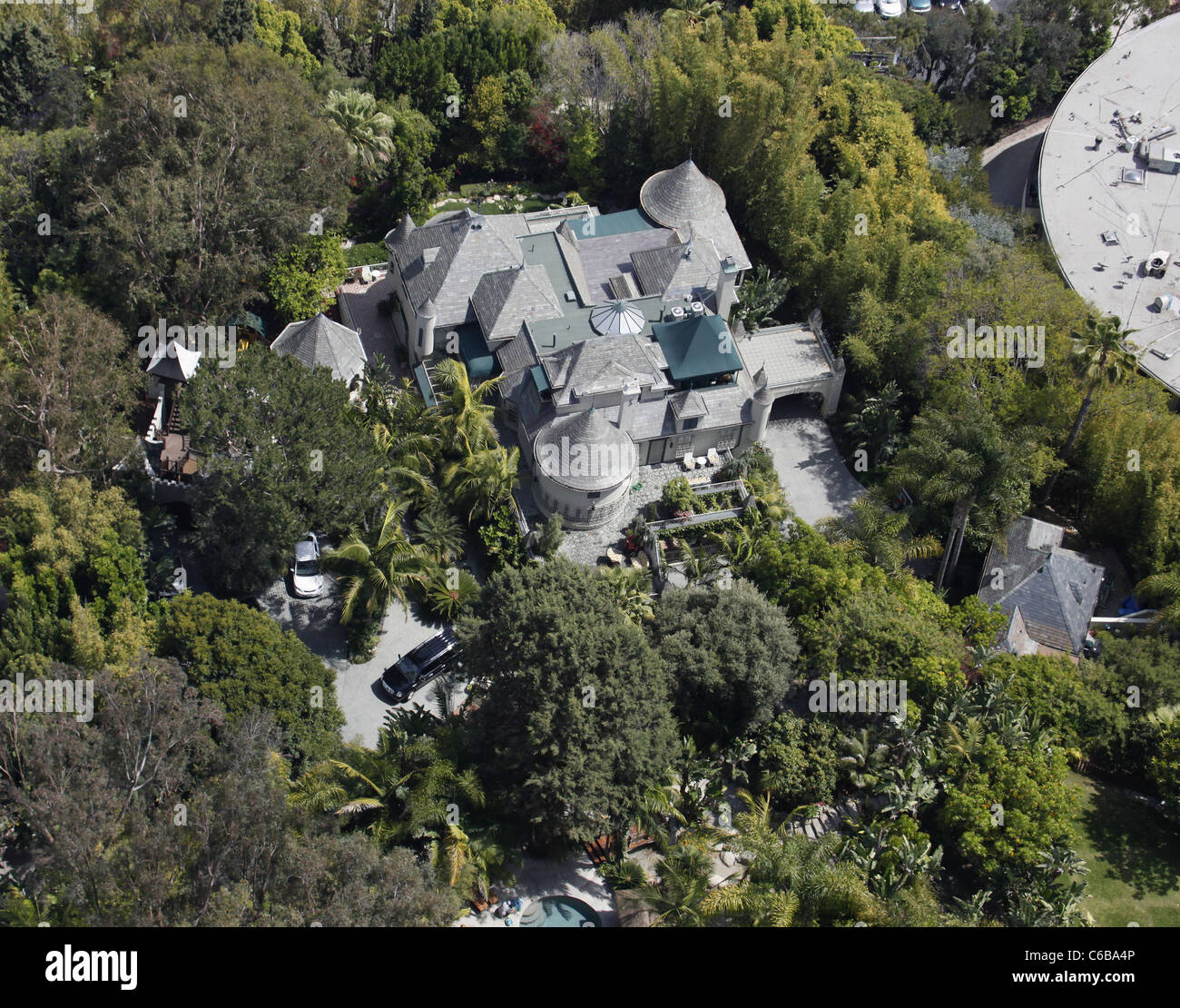Tremendous Aerial View Of The House Johnny Depp Lives In West Download Free Architecture Designs Viewormadebymaigaardcom