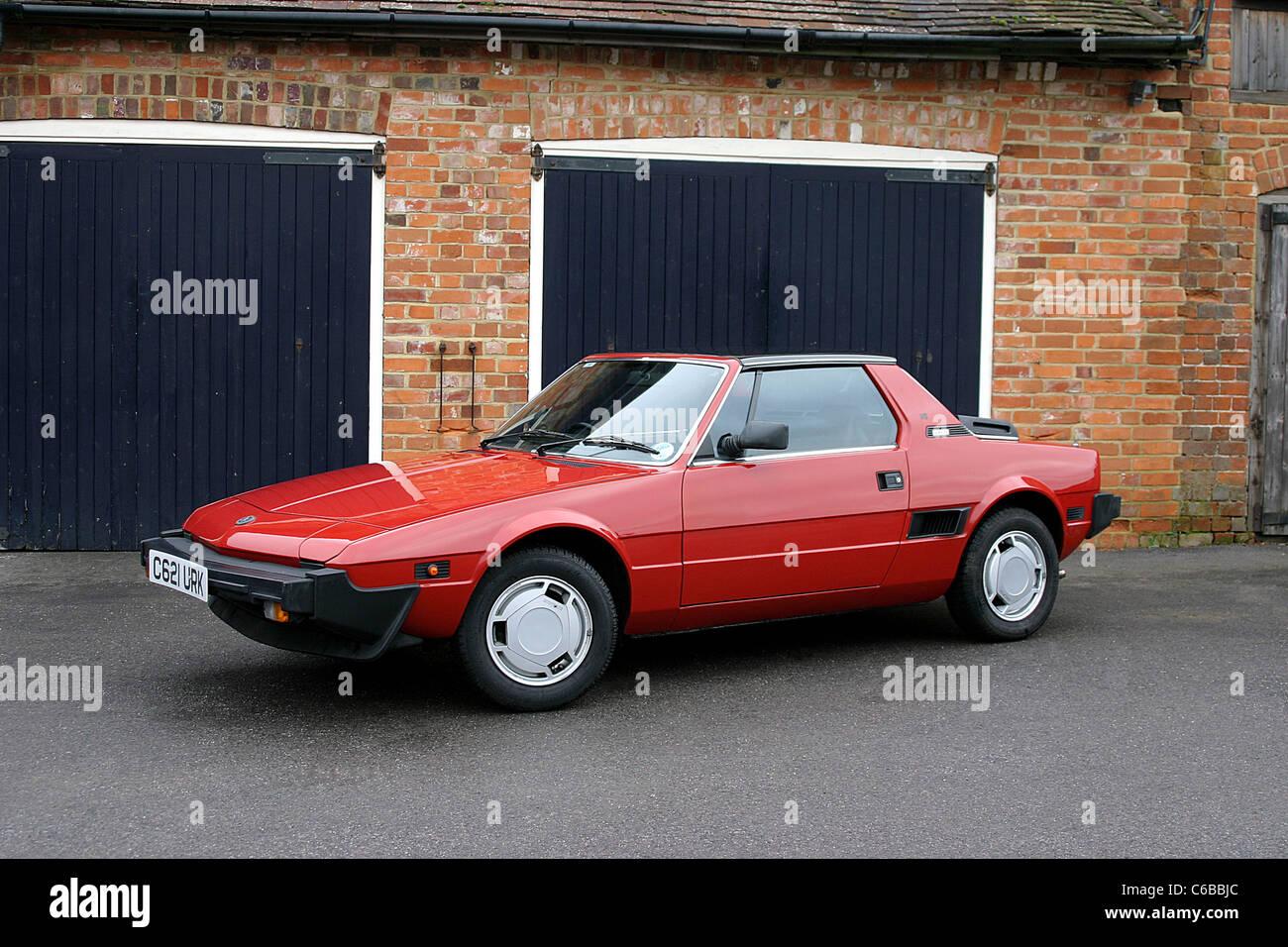 1986 Fiat X1/9 VS Stock Photo