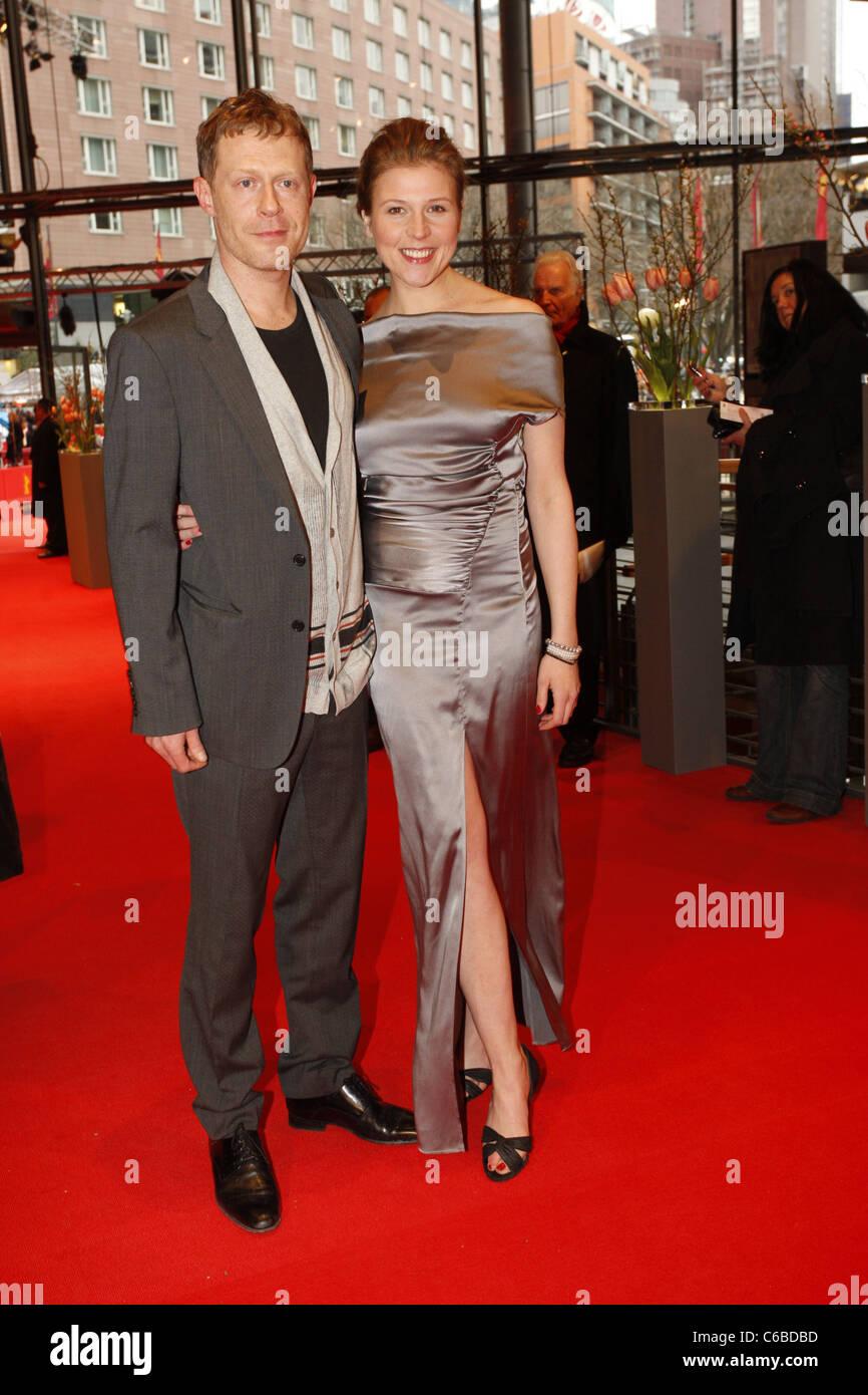 Andreas Lust, Franziska Weisz at the 60th Berlin International Film Festival (Berlinale) - 'Der Raeuber' - Stock Image