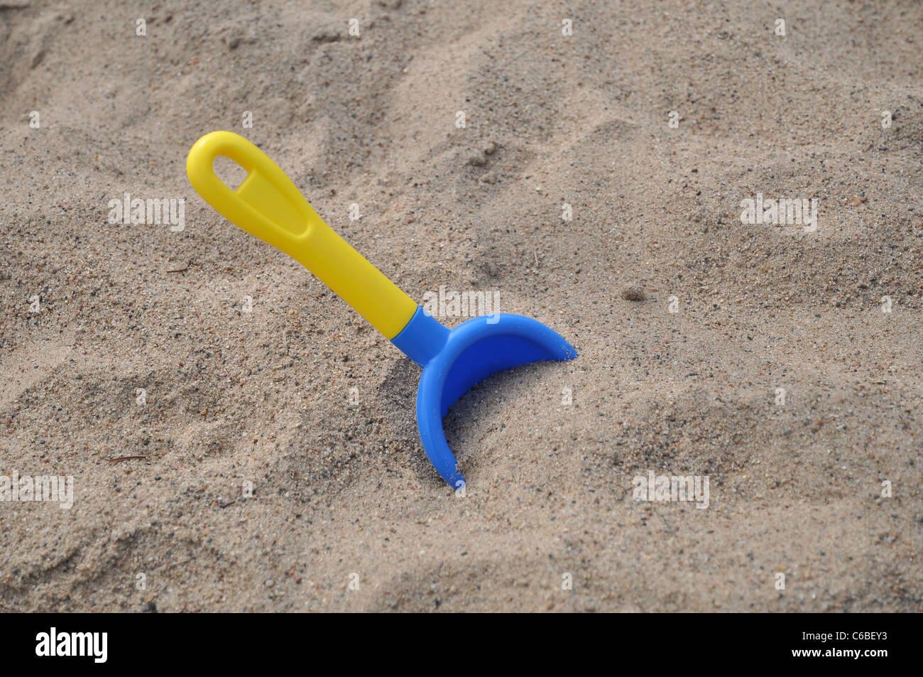 Playground, beach or sandbox concept - Stock Image