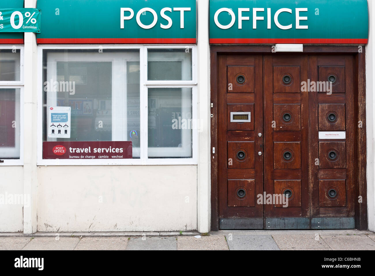 A branch of Post Office in London - Stock Image