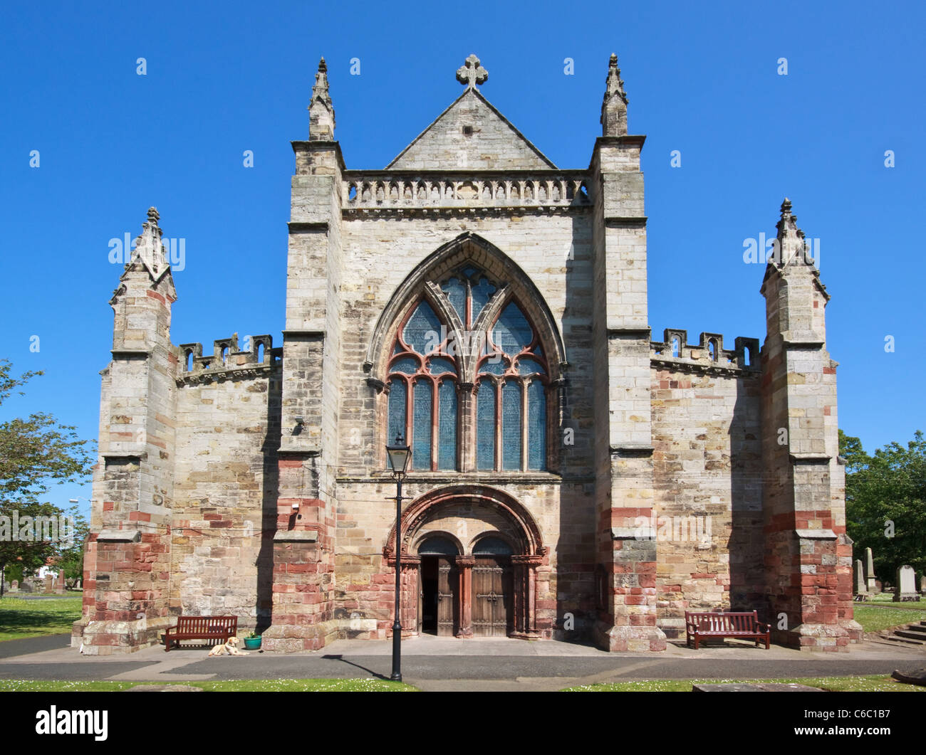 St Mary's Parish Church Haddington East Lothian - Stock Image