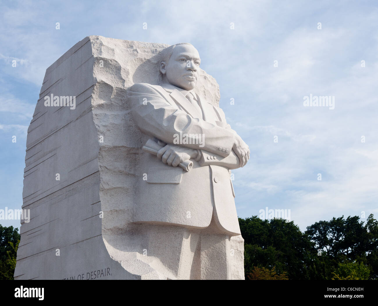 Washington Dc August 24 The Monument To Dr Martin Luther King In