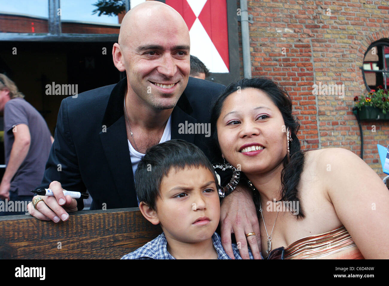 Ed Kowalczyk signs copies of his debut solo album 'Alive' at