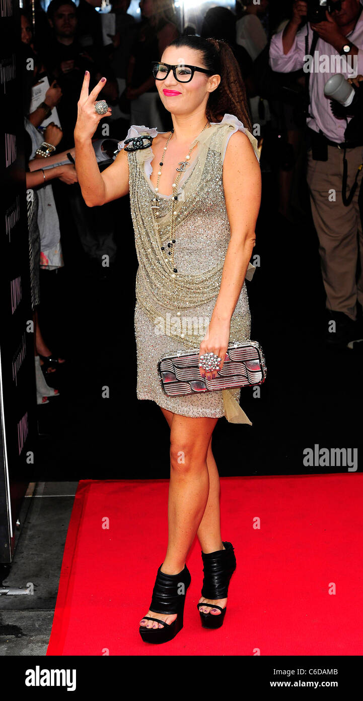 934b09bf9e81 Grace Woodward Britain s Next Top Model series 6 launch party held at  Circus London