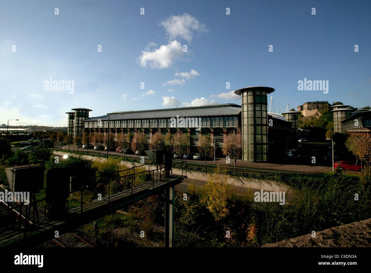 Inland Revenue building Nottingham - Stock Image