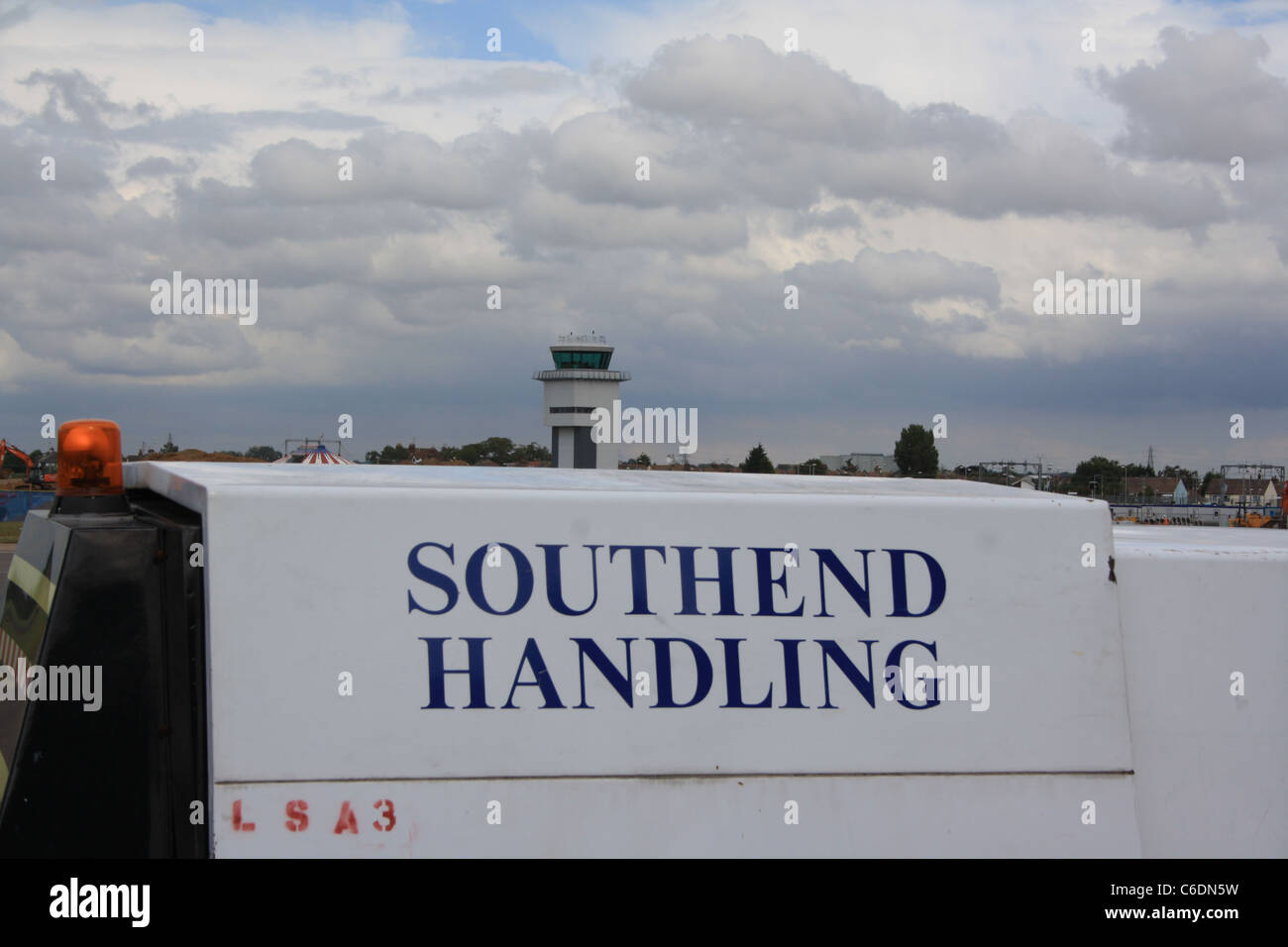 the new tower at southend airport - Stock Image