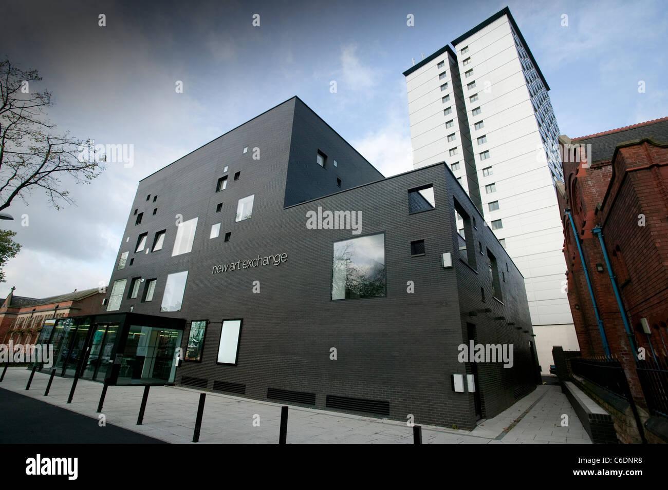 New Art Exchange gallery, Nottingham - Stock Image