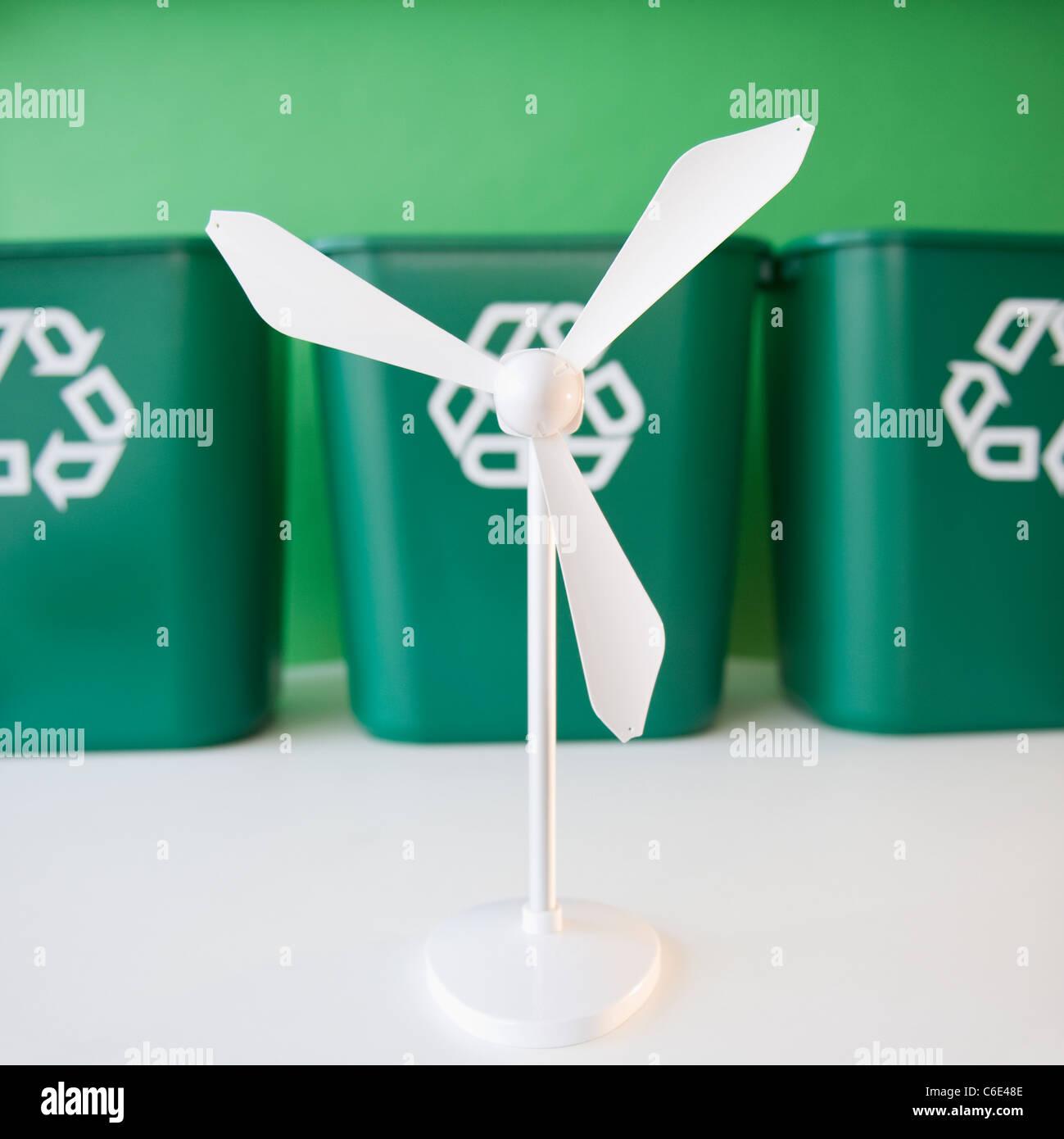 how to make a wind turbine model