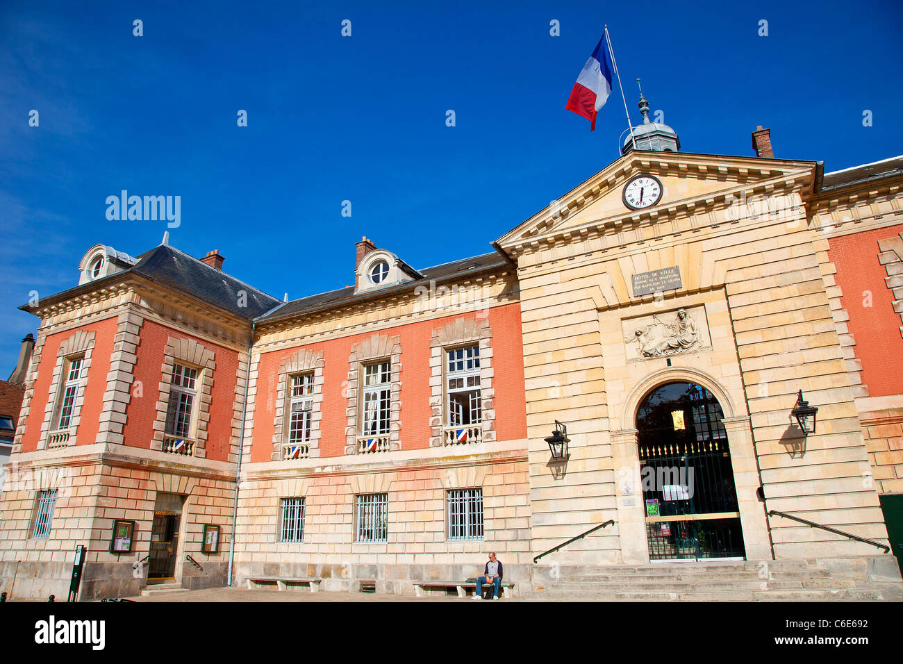 Rambouillet, City Hall - Stock Image