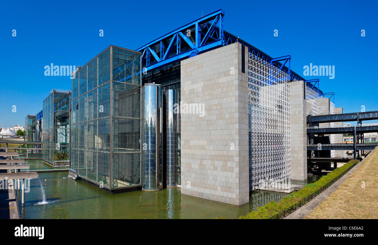 France, Paris (75), the city of Sciences and Industry in La Villette Park - Stock Image