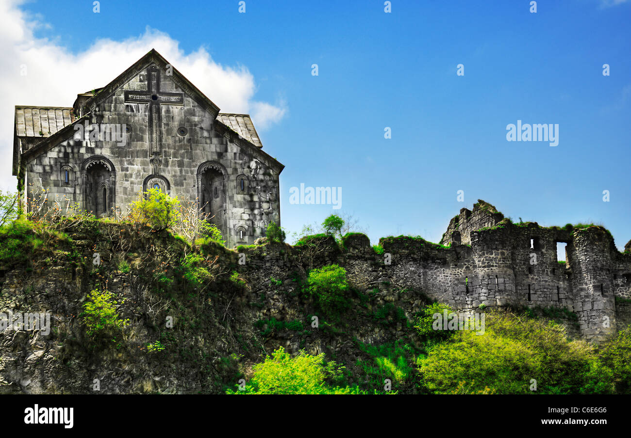 Ancient Armenian Church - Stock Image