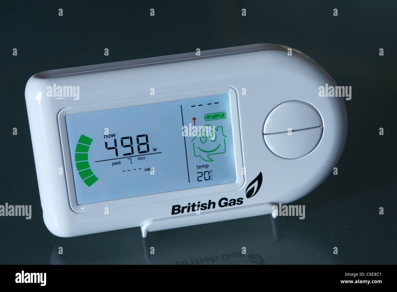 A British Gas Electricity Monitor Stock Photo