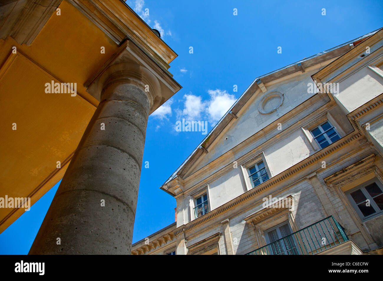 Europe, France, Yvelines (78), Rambouillet, palais du Roi de Rome (Palace of the King of Rome) Stock Photo