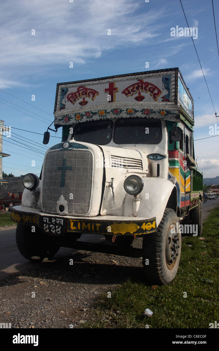 Nepali Truck Stock Photos & Nepali Truck Stock Images - Alamy